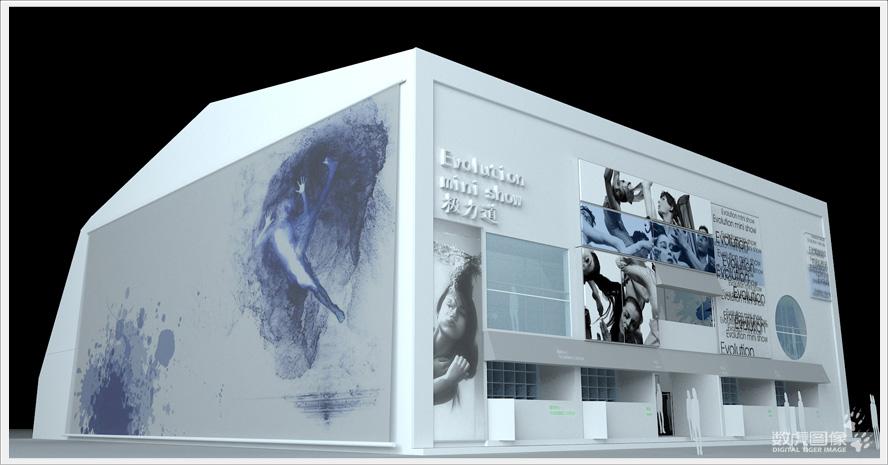 现代感极强的剧场外观设计