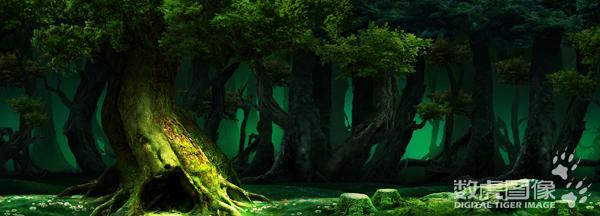 儿童剧森林背景图片展示